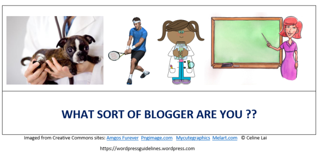 WHAT BLOGGER ARE YOU