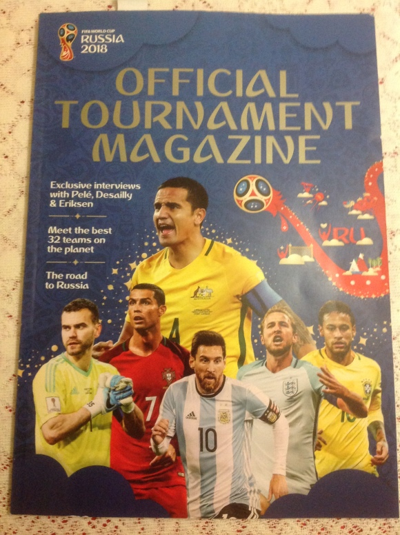 FIFA 2018 OFFICIAL TOURNAMENT MAGAZINE