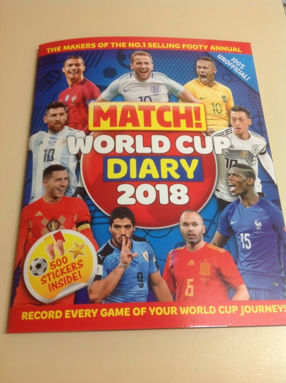 MATCH FIFA WORLD CUP DIARY