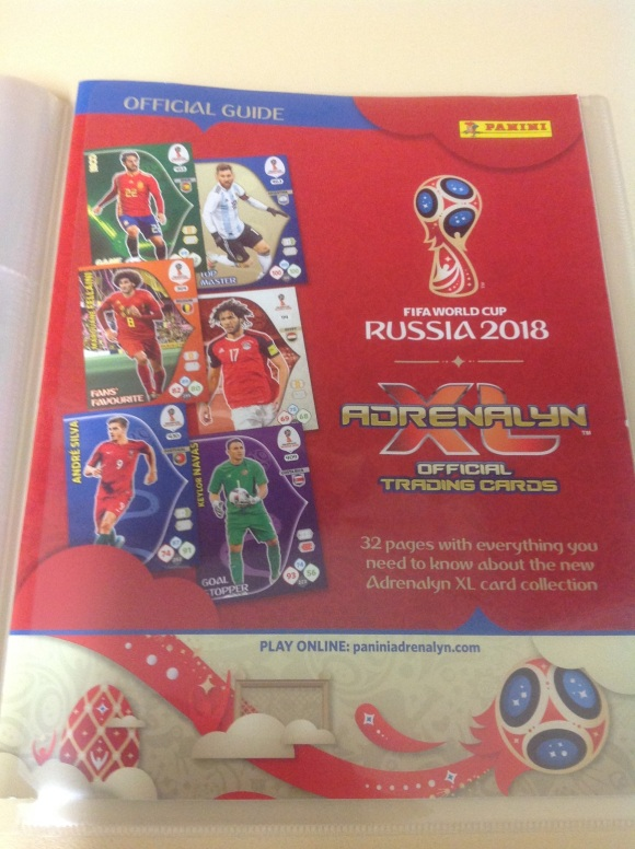 PANIN ADRENALYN XL FIFA TRADING CARDS GUIDE