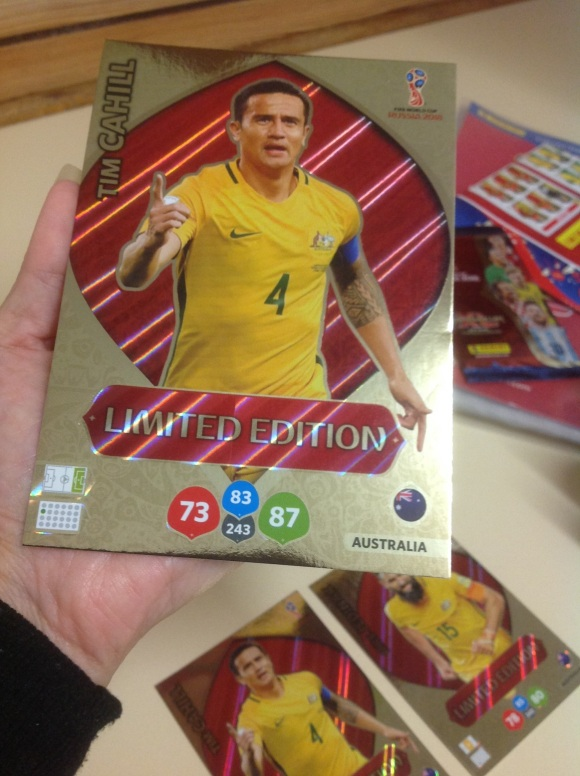 PANINI ADRENALYN XXL Limited Edition card Tim Cahill