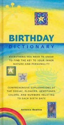 birthday dictionary